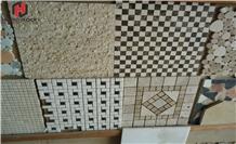 Vietnam Natural Marble Mosaic Tiles Polish Mosaic