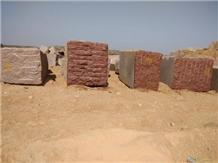 Ilkal Red Granite Block, India Red Granite
