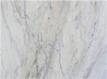 White Himalaya Marble Slabs