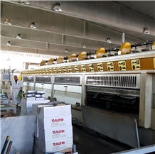 Barsanti Polishing Line for Granite 22 Granite Heads Year 2004