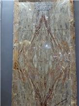 Sarrancolin Versailles Marble Slabs, Tiles