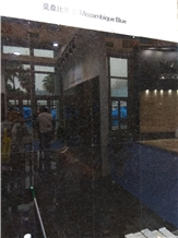 Mozambique Blue Granite Slabs, Tiles