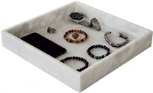 Afyon White Marble Jewelry Bowl
