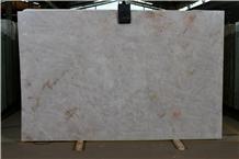 Crystal White Quartzite Slab