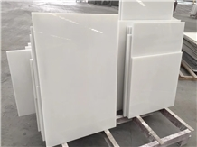 Artificial White Marble Nano Glass Stone Tile