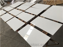 Artificial White Nano Crystallized Glass Stone Tiles
