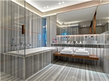 Marmara White Marble Tile Bathroom Wall,Floor