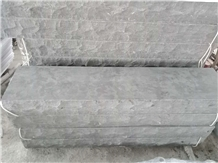 Blue Limestone Steps with Natural Split Side