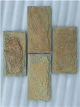 Mushroomed Cladding in Quarzite,Slate Wall Veneer
