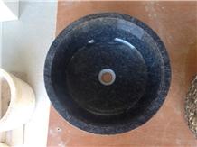Black Marble, Taurus Black Marble Wash Basin