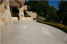 Light Vein Cut Travertine, Denizli Vc, Beige Vc