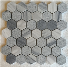 Marmara Equator Marble Hexagon Mosaic