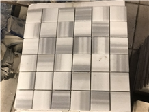 Marmara Equator Marble Polished Mosaic 50x50mm