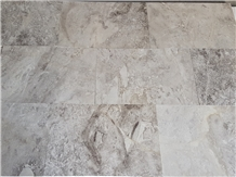 Argento Silver Grey Marble Tiles - Honed