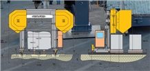 Pentawire Multiwire Machine to Cutting Slabs