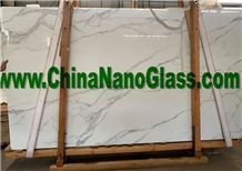 Calacatta Gold Nanoglass Slab