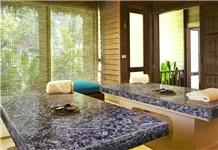 Amethyst Semiprecious Desk,Purple Gemstone Tables