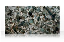 Desert Green Jasper Slab,Green Gemstone Wall Tile
