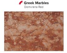 Domvrena Red Marble Tiles, Slabs