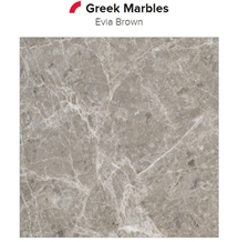 Evia Brown Marble Slabs, Tiles