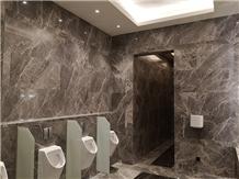 Bathroom Tiles Slab Italy Silver Dark Grey Marble