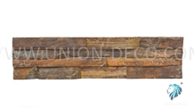 Natural Multicolor Ledger Slate Wall Panel