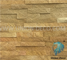 Yellow Decorative Sandstone Dessert Wall Panel