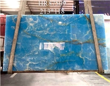 Antofagasta Azul Onice Pakistan Blue Onyx Slab