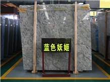 Blue Enchantress Bluelover/Carbonico Grey Marble