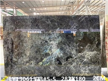 Brazil Blue Emerald Granite Slab Tiles Wall Floor