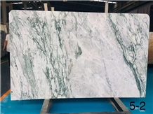 China Cheap Violet White Green Marble Slab on Sale