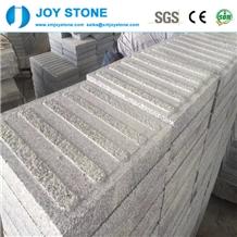 China Dark Grey Granite Walking Blind Stone Paver