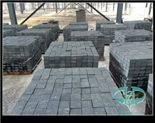 China Natural Black Granite Stone Cubes/Pavers