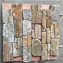 China Rusty Loose Slate Panels Wall Claddings