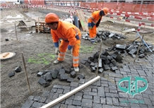 Chinese Black Basalt for Paving Stone