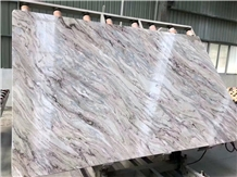 Fantasy Brown Glacier Sands Aurora Marble Slab