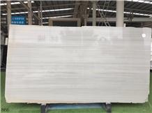 Greece Vermion White Marble Slab Tiles Vanity Use