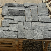 Light Grey Stacked Stone Veneer Wall Calddings