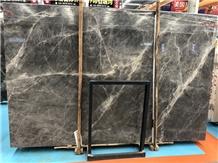 Turkey Marble New Hermes Ash Grey Slabs & Tiles