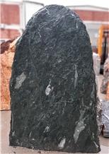 Serpentine Green Angel Gravestone