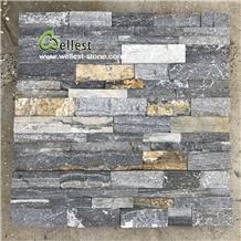 Blue and Rustic Slate Quartzite Wall Stone