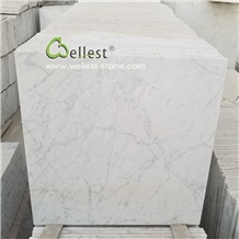 Italy Bianco Carrara White Marble Floor Wall Tile