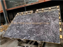 Silver Grey( Light Color) Marble Tiles Slabs