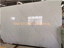 Vitoria White Granite Tiles Slabs Bathroom Wall