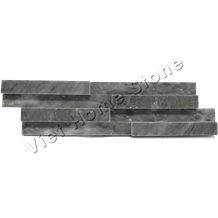 Split Pure Grey Marble Wall Cladding