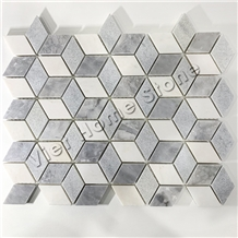 Vietnam 3d Polished Marble Mosaic Tile