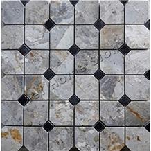Vietnam Octagon Polished Mosaic Tile