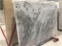 Storm White Marble Slabs