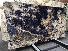 Azul Bahia Cloisonne Enamel Blue Marble Slabs