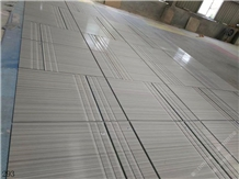 China Linlang Gem Gray Marble Floor Tiles Paving